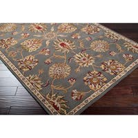 Gracewood Hollow Rand Hand-tufted Wool Area Rug - 8' x 10'