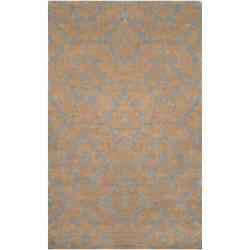 Hand-tufted Alapaha New Zealand Wool/ Viscose Rug (8' x 11')