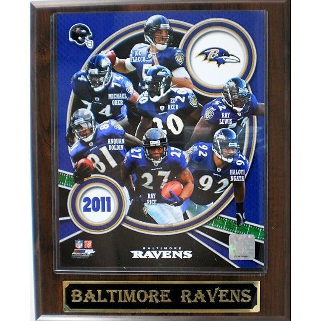 Baltimore Ravens Large 2011 Plaque