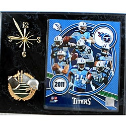 Tennessee Titans Collectible Photo Clock Plaque - Thumbnail 0