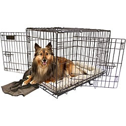 Elite Copper 3-door Lock System Dog Crate