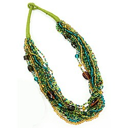Melange Green Necklace (India)