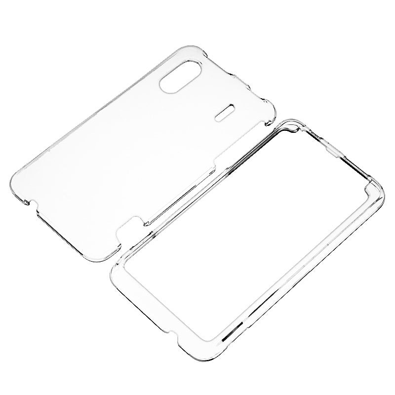 INSTEN Clear Snap-on Crystal Phone Case Cover for HTC EVO Design 4G