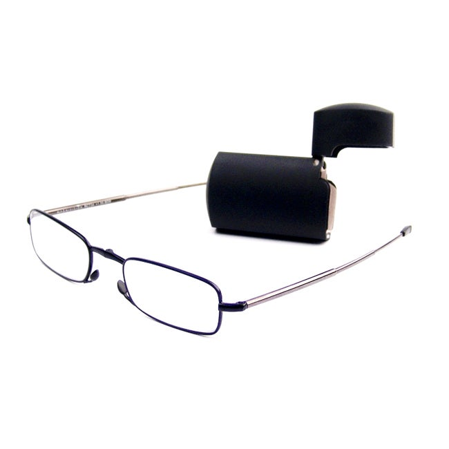 Foster Grant MicroVision Silver Foldable Reading Glasses