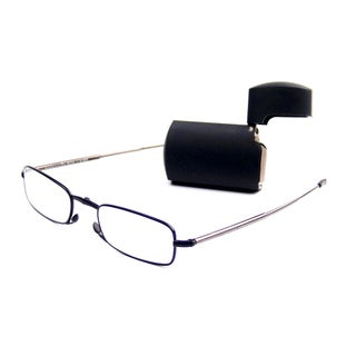 Foster Grant MicroVision Gideon Silver Foldable Reading Glasses (3 options available)