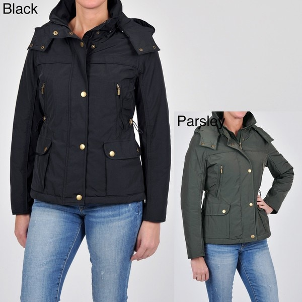 Weatherproof Women's Jacket with Detachable Hood