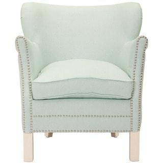Safavieh Posh Robins Egg Blue Arm Chair