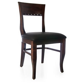 Biedermier Walnut Dining Chairs (Set of Two)