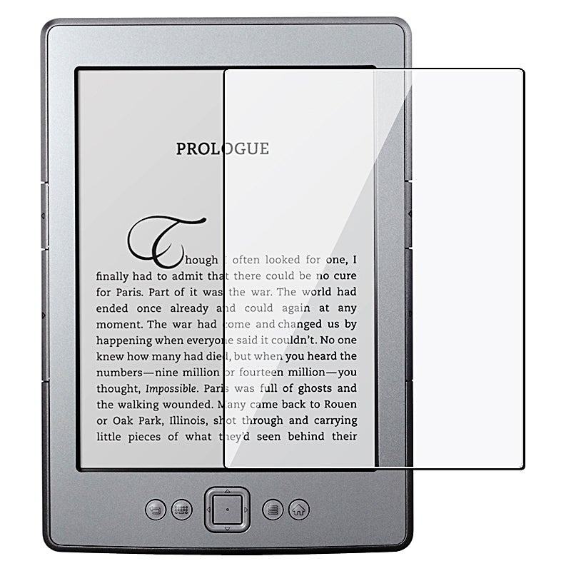 Screen Protector for Amazon Kindle 4 (Pack of 3)