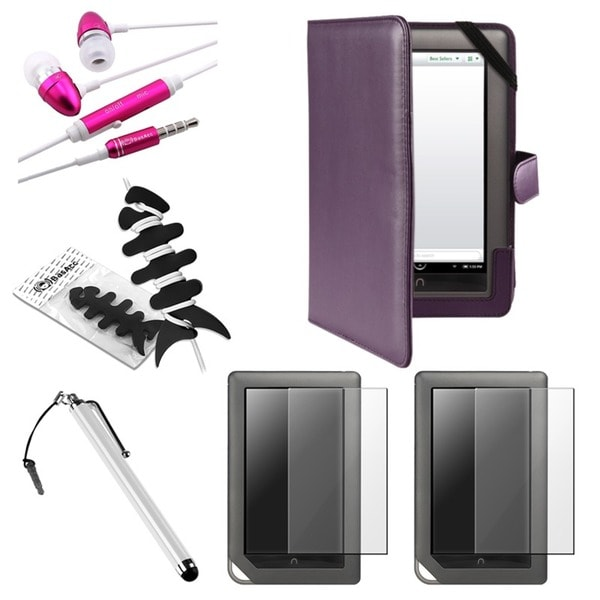 BasAcc Case/ Protector/ Stylus/ Headset for Barnes & Noble Nook Color