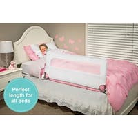 Regalo Guardian White Swing Down Portable Bed Rail