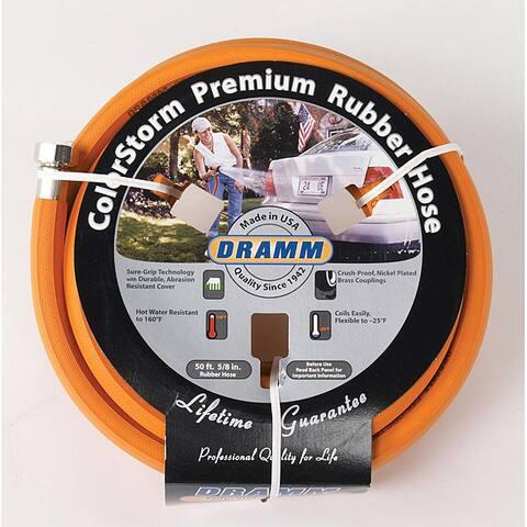 Dramm Colorstorm Premium Orange Rubber Hose