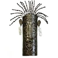 Recycled Mask of Life  , Handmade in Haiti