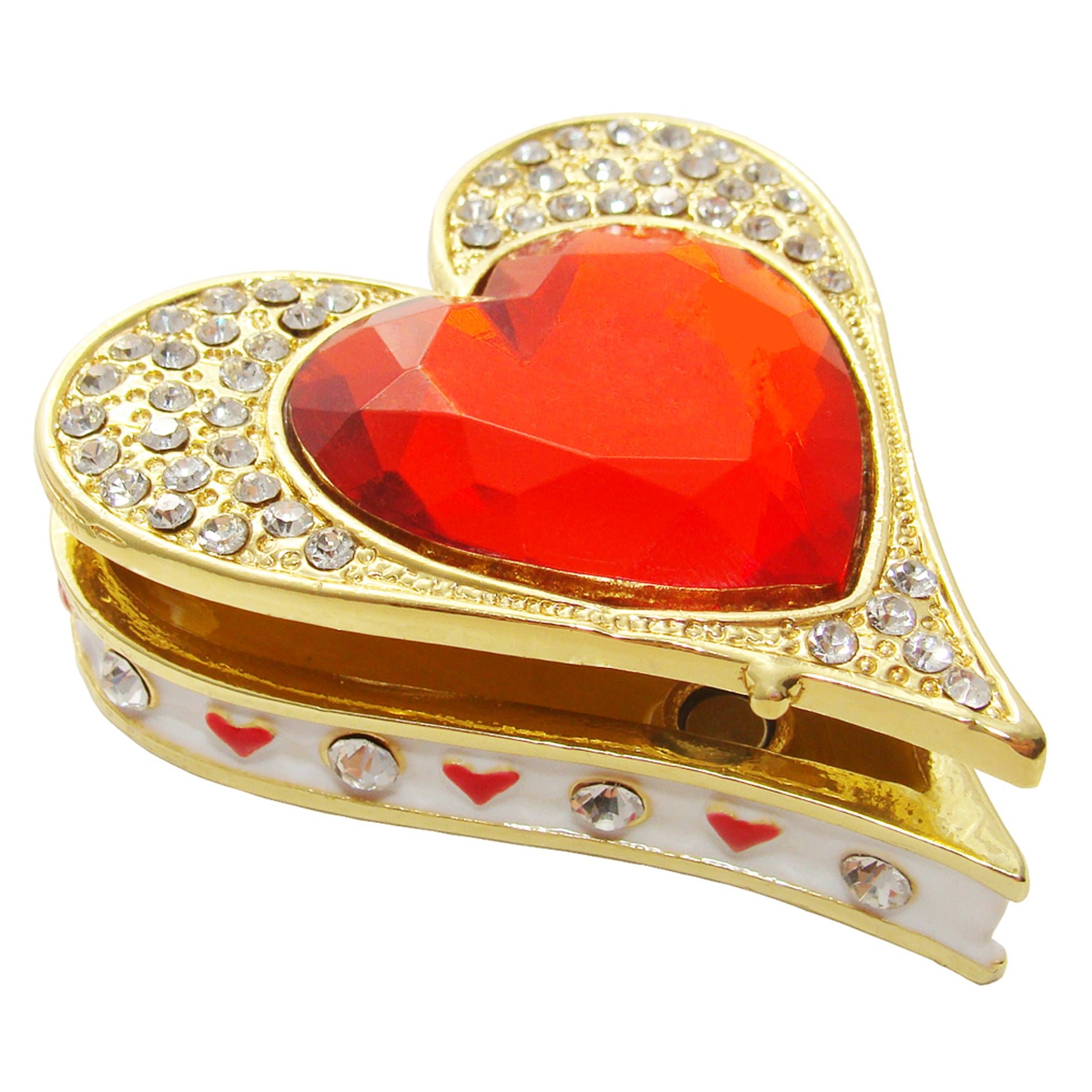 Objet d'art 'Queen of Hearts' Trinket Box