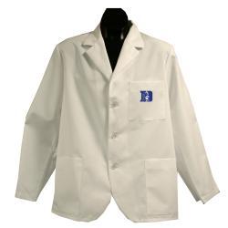 Gelscrubs Unisex NCAA Duke Blue Devils Short Labcoat