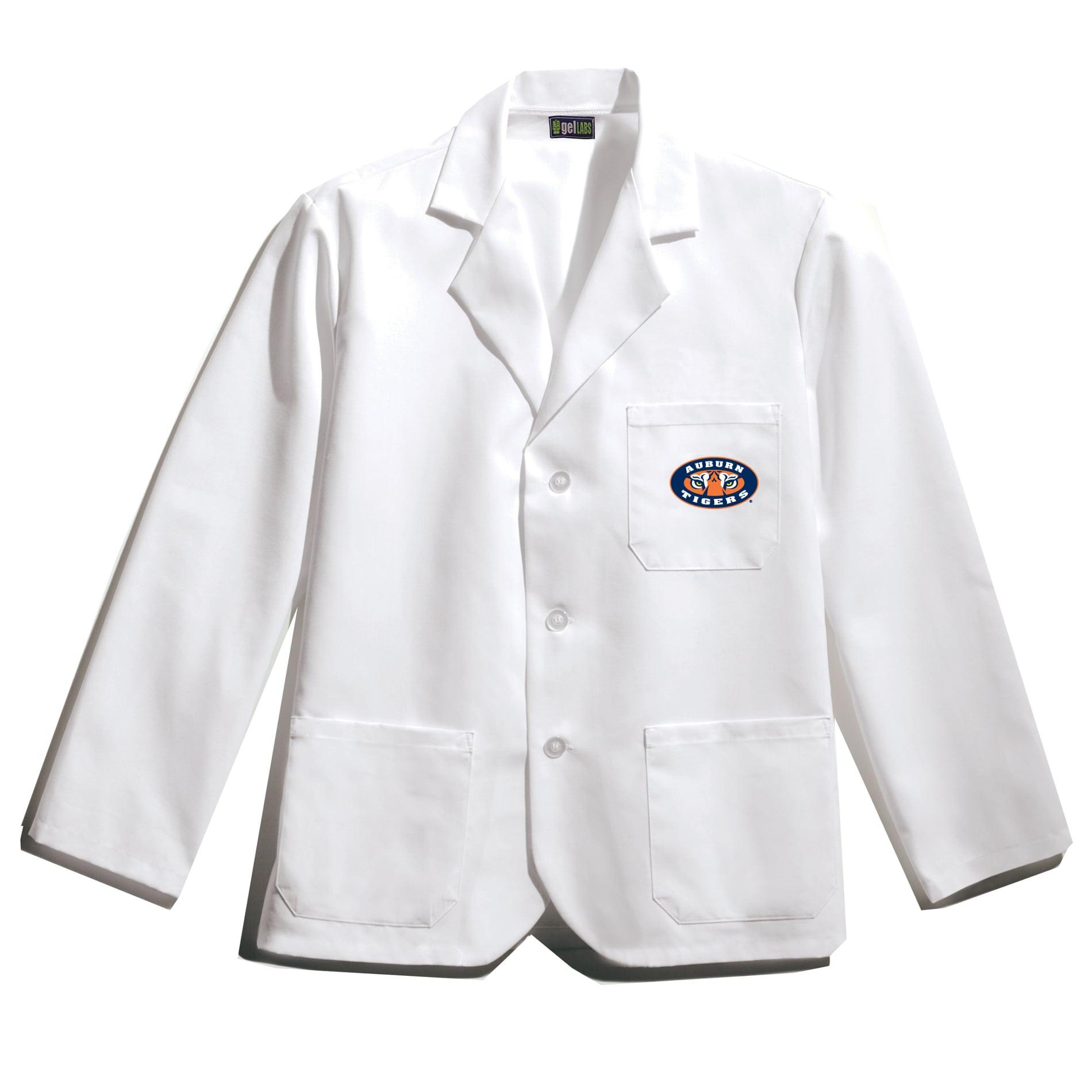Gelscrubs Unisex NCAA Auburn Tigers Short Polyester/Cotton Labcoat