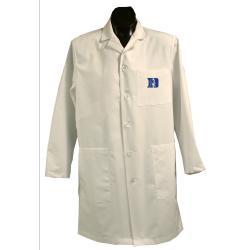 Gelscrubs Unisex NCAA Duke Blue Devils Long Labcoat