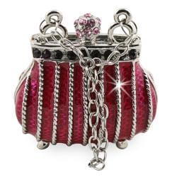 Objet d'art 'Nuit a la opera' Ladies Handbag Trinket Box - Thumbnail 0