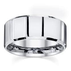 Men's Classic Cobalt Wedding Band by Spartan Jewelry