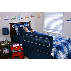 Regalo Blue Swing Down Bed Rail - Thumbnail 0
