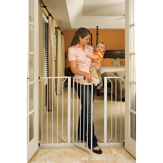Regalo Extra Tall Wide Span Safety Gate Free Shipping