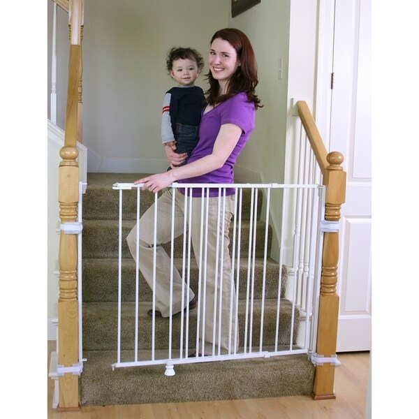 Shop Regalo Top Of Stairs Extra Tall Baby Gate Free