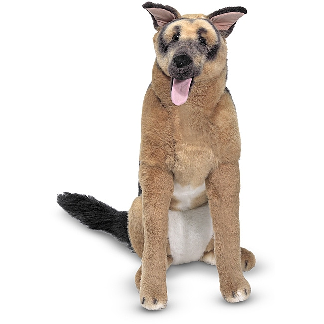 Melissa & Doug Plush German Shepherd