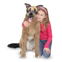 Melissa & Doug Plush German Shepherd - Thumbnail 1