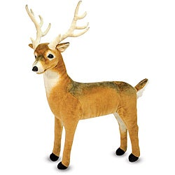Melissa & Doug Plush Deer - Thumbnail 0