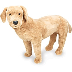 Melissa & Doug Plush Yellow Labrador - Thumbnail 0