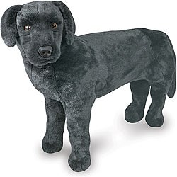 Melissa & Doug Plush Black Labrador