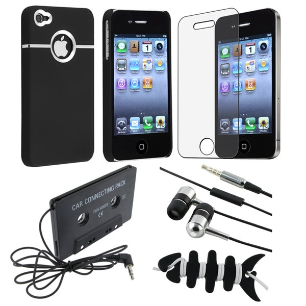 Case/ Screen Protector/ Headset/ Cassette Adapter for Apple iPhone 4S