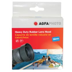 AGFA 58mm Soft Rubber Lens Hood