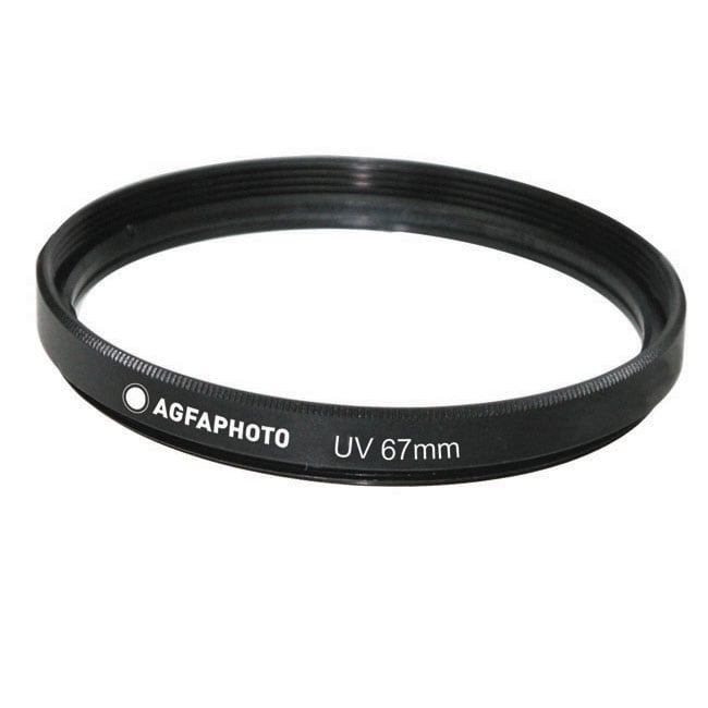 AGFA 67-millimeter Multi-coated Ultraviolet Filter and Lens Protector