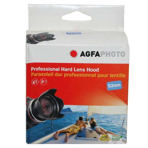 AGFA 52mm Deluxe Hard Lens Hood