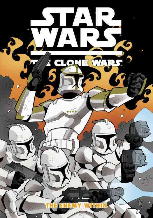 Star Wars: The Clone Wars: The Enemy Within (Paperback)