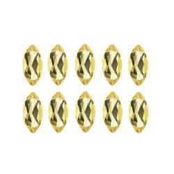 Glitzy Rocks Marquise 4x2mm 1ct TGW Citrine Stones (Set of 10)