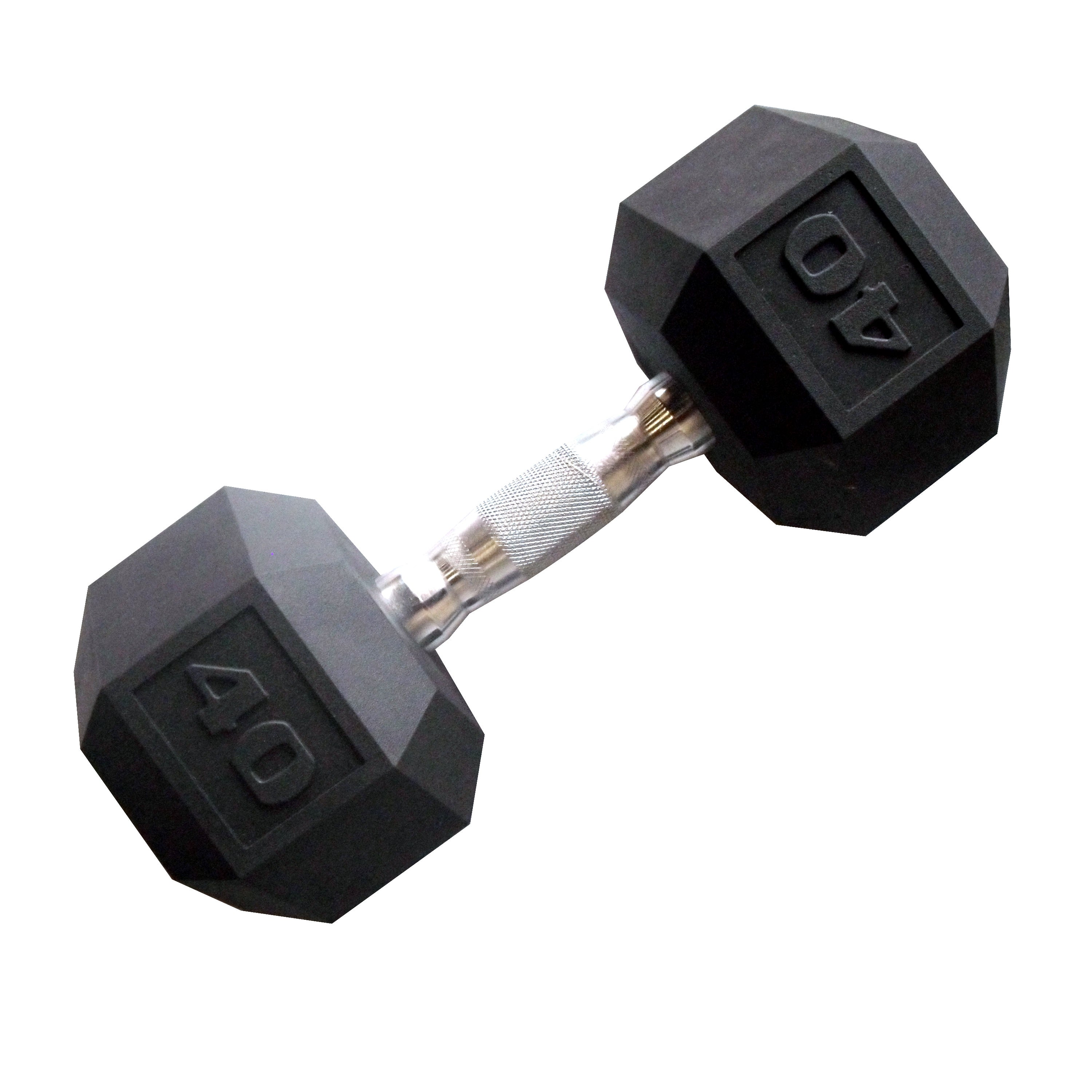 CAP Barbell 40 lb Coated Hex Dumbbell