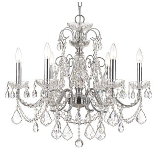 Crystorama Imperial Chrome 6-Light Crystal Chandelier