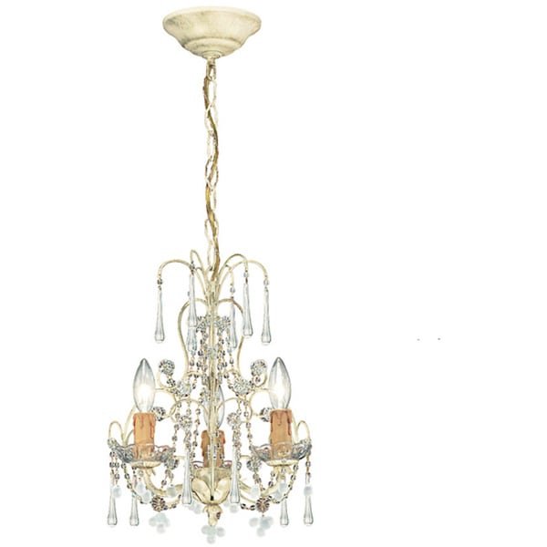 Crystorama Ella Collection 3-light Champagne Chandelier