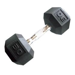 CAP Barbell 30 lb Coated Hex Dumbbell