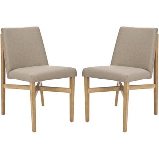 Safavieh Mid-Century Floating Design Olive Chair (Set of 2)