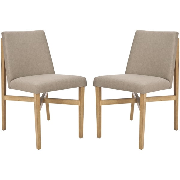 Safavieh Mid-Century Floating Design Olive Chair (Set of 2)