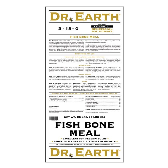 Shop Dr Earth Fish Bone Meal Fertilizer - Free Shipping Today - Overstock -  6392801 0452a77c8bc