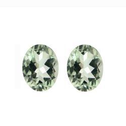 Glitzy Rocks 9x7 Oval-cut Green Amethyst Stones (3 1/3ct TGW) (Set of 2)|https://ak1.ostkcdn.com/images/products/6392840/78/480/Glitzy-Rocks-9x7-Oval-cut-Green-Amethyst-Stones-3-1-3ct-TGW-Set-of-2-P14004814.jpg?_ostk_perf_=percv&impolicy=medium