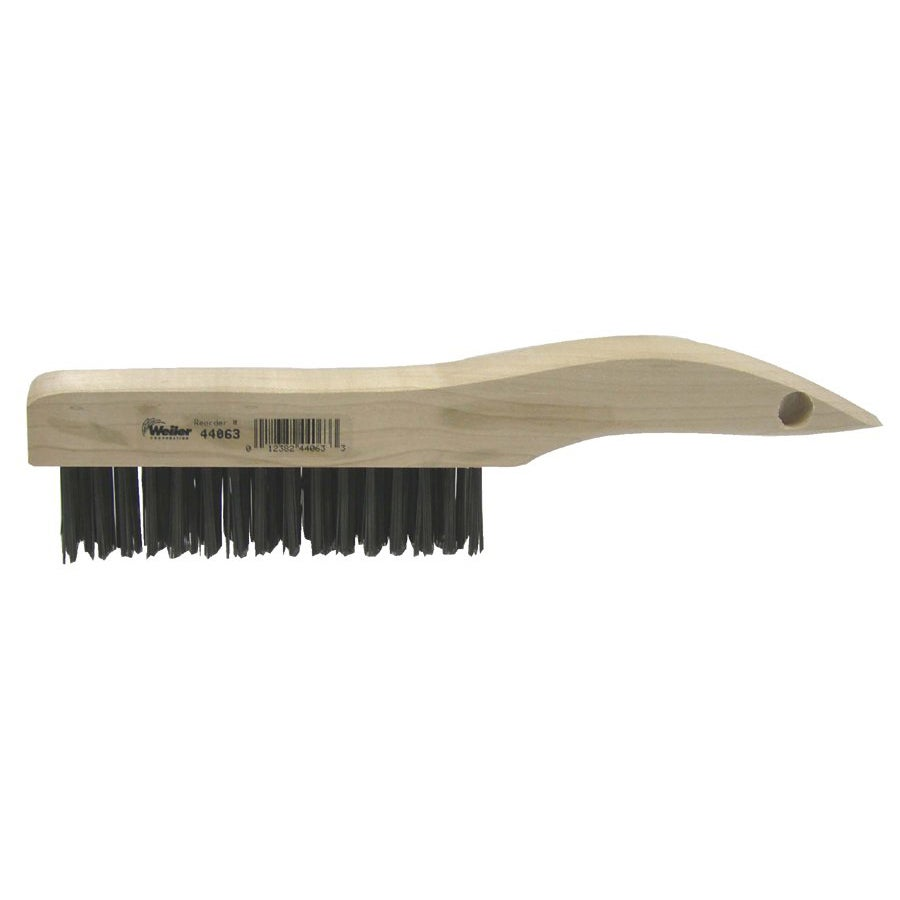 Weiler Shoe Handle Scratch Brush
