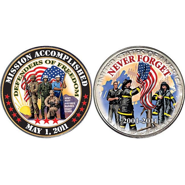 American Coin Treasures Mission Accomplished/ Defenders of Freedom Coin