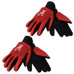 NCAA Alabama Crimson Tide Two Tone Utility Gloves