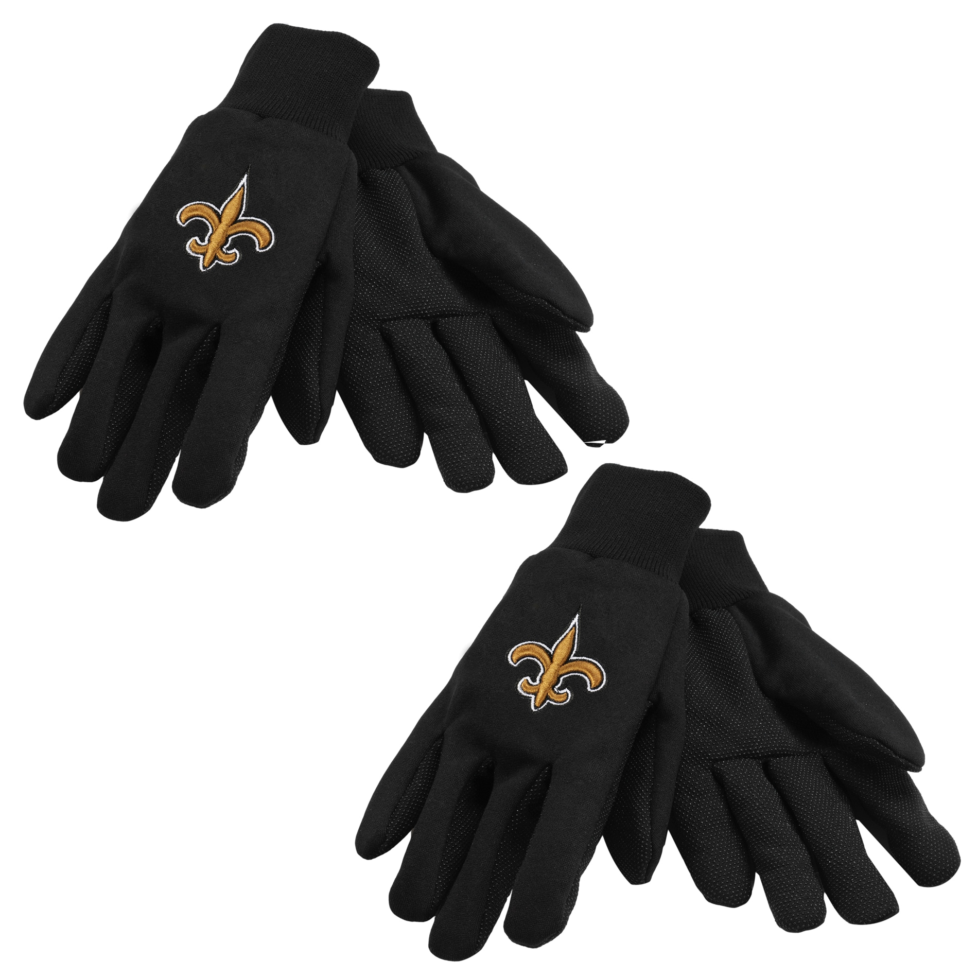 New Orleans Saints Two-tone Gloves (Set of 2 Pair)