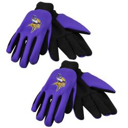 Minnesota Vikings Two Tone Gloves Set Of 2 Pair Overstock Com Shopping The Best Deals On Football